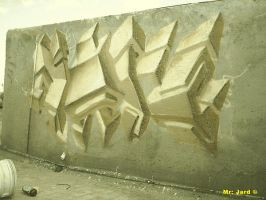 3d in wall by hard77