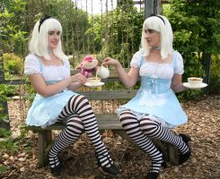Alice in Wonderland Tea Party by wotchertonks7