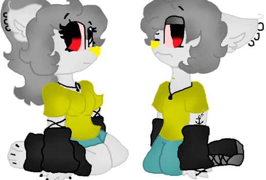 .: Mine :. .: Female and Male :. by Jessica9988Fofis