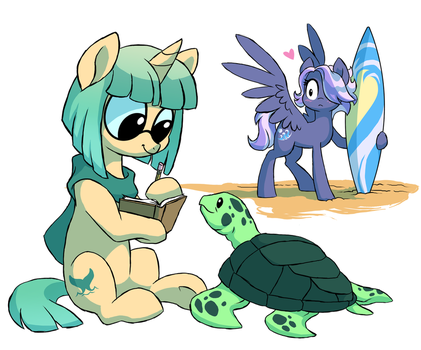 Wave's crush by Lopoddity
