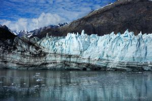 Margerie Glacier in Glacier Bay, Alaska by jarodkearney