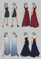 The Great von Karma Fashion Show - Dress Edition by SweetLittleVampire