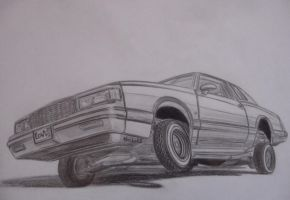 87 Chevy MonteCarlo LoWRiDeR by theTobs