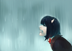 Crying by P-cate