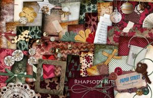 rhapsody    kit - paper street designs by paperstreetdesigns