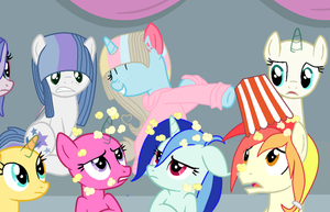Collab  Popcorn For All by wizdiana