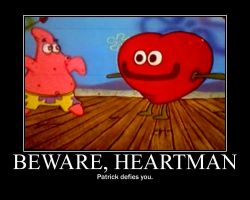 Patrick defies all Heartmen by malfunit