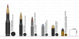Ammunition Chart by The-Xie