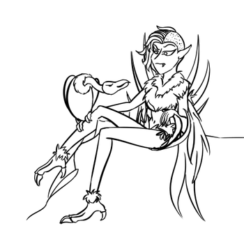 Monster Girl Challenge '15: Harpy by HarpieQueen