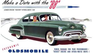 1949 Oldsmobile 88 by Kuma1692