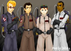 The Real Slim Ghostbusters by makotomikami
