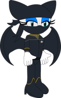 Sonic Trek: Lieutenant Rouge the Bat (2373) by MasterAccount