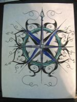 Compass rose by sapphire4486