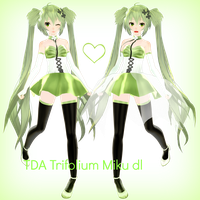 .: TDA Trifolium Miku dl (v.01) :. by Sushi-Kittie