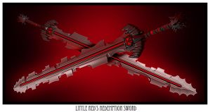 Little Red Riding Hoods Sword by malmida