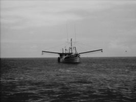 A fishermans Boat by wolvesthewarrior