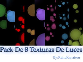 Pack de 8 Texturas de Luces by ShinoKanateru