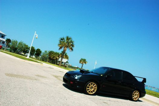 STi on a perfect day by dragonsprotoge