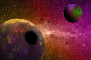 The Colors of Outer Space by Tangerineandpuce