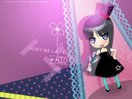 Mio : Dont Be lazy by lovepapier