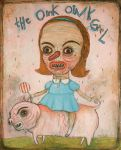The Oink Oink Girl by PornyPortraits