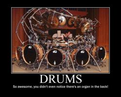 Poster - DRUMS by E-n-S