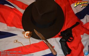 Indiana Jones Webley and Hat by Joran-Belar