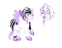 Pastel Punk Powny by kerenitychan
