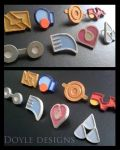 Hoenn Pokemon Badges by DoyleDesigns