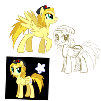 Ash pony doodles by VengefulSpirits