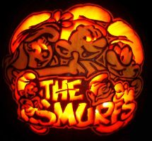 The Smurfs by pumpkinsbylisa