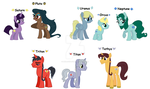 MLP Sailor Planets Outer and Starlights by Brillonsloup