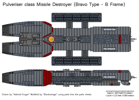 Pulveriser Missile Destroyer by The-Electromage