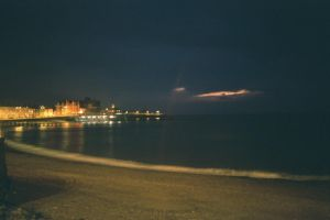 Aberystwyth after sunset. by bisi