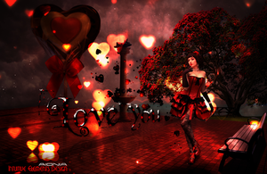 Wallpaper of Valentine's day 2014 by Aionia-Designs