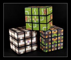 Game Cubes by FarawayPictures