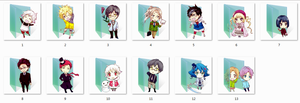 Karneval Folder Icons by Ginokami6