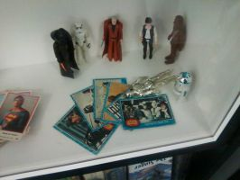 Star Wars -  Original 70's figures and cards. by DoctorWhoOne