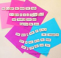 The Daily Magnet #147 by FridgePoetProject