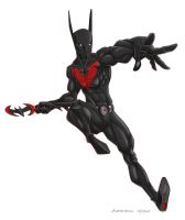 Batman Beyond by crayonslut