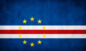 Cape Verde Grunge Flag by think0