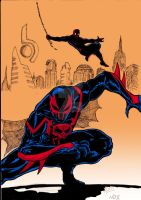 Spiderman 2099 by nic011