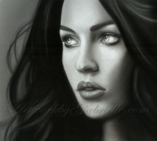 Megan Fox Drawing by gabbyd70