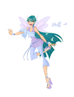 My New OC: Belle - fairy of the stars by DarleenEnchanted