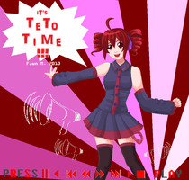 It's Teto Time- MS Paint by AngelicCarrot