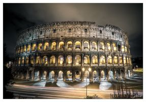 Night Coliseum by Jurnov