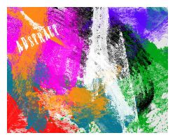 Abstract brushes set. 4 by Chlotte