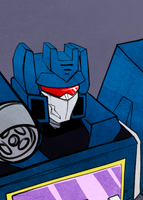 [Bust] Soundwave by KusuKitty