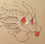 Testing out my tanned paper by SoFizzticated