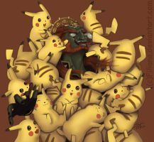 Surrounded by chus... by Filiana